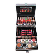 Miss Young Make-up Kit Box - Zilver Holografisch