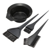 Hairdressing Salon Haar Verf Set l Bak en Borstels Kit
