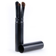 Makeup Brushes Travel Size Black - 5 pcs