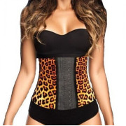 AVA® Waist Trainer Latex  - Luipaard