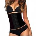 AVA® Waist Trainer Latex  - Zwart