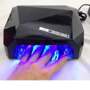 UV Lamp Nail Dryer with LED-Light 36 watt 220v - Swart