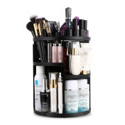 Monoko® 360º Rotating Make-up Organizer, Zwart