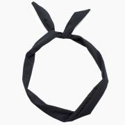 Flexi Haarband Bandana Look - Zwart