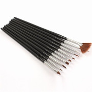 Nail Art Brushes - 10 pcs