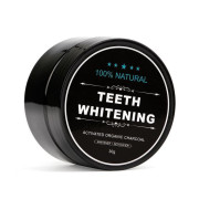 Teeth Whitening 100% Natural – Activated Charcoal Tandenbleker