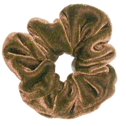 Scrunchie - Light Brown