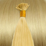Cold Fusion hair extensions - 50 cm - #613 Blond