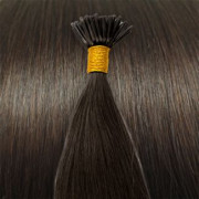 Cold Fusion hair extensions - 50 cm - #2 Donkerbruin