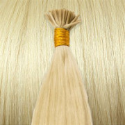 Cold Fusion hair extensions - 50 cm - #60 Platinum Blond
