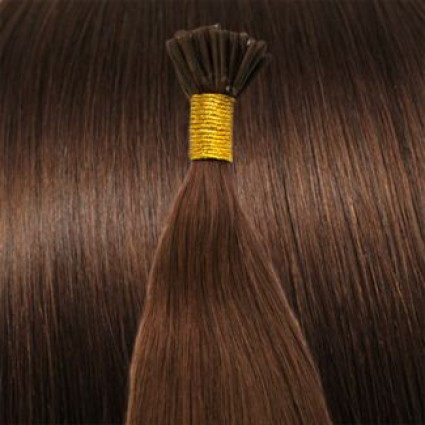 Cold Fusion hair extensions - 60 cm - #30 Rood Bruin