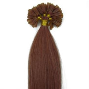 Hot Fusion hair extensions - 50 cm - #30 Rood Bruin