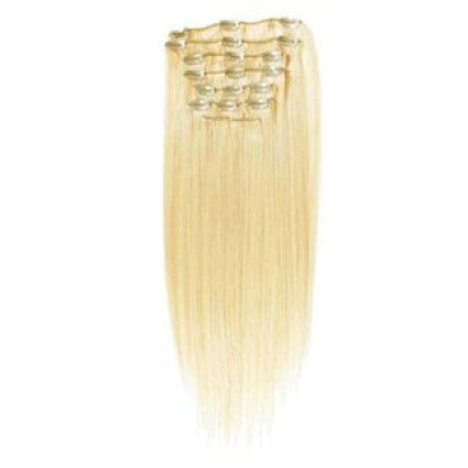 #613 Blond - 40 cm Clip in