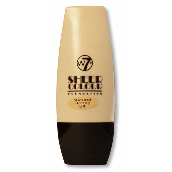 W7 Sheer Foundation - Natural Honey