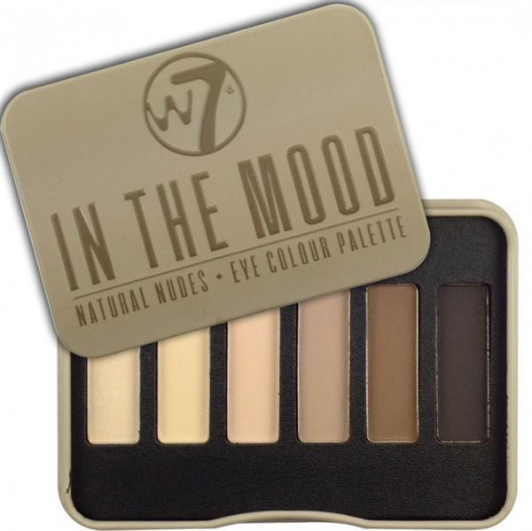 Image of   W7 In The Mood Natural Nudes Palet Oogschaduw