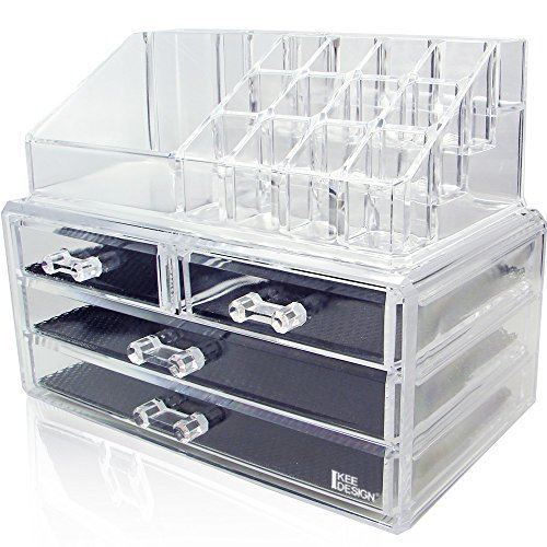 Image of   AVERY®Make-up organizer Acryl met 4 laden
