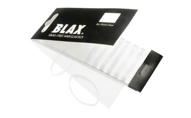 Image of   BLAX - Haarelastieken - 4mm - transparant